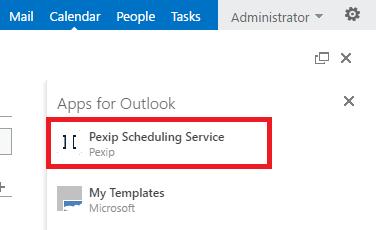 Using Outlook to schedule meetings in VMRs | Pexip Infinity Docs