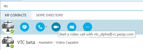 Presence and contact lists in Skype for Business / Lync